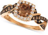 LeVian Le Vian Chocolatier® Diamond Ring (1-1/6 ct. t.w.) in 14k Rose Gold