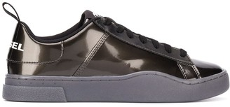Diesel Lace-Up Plimsoll Trainers