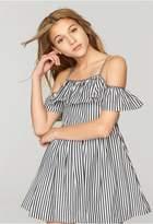 Milly Minis Stripe Shirting Bella Dress