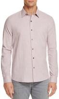 Michael Bastian Mini Check Regular Fit Button-Down Shirt
