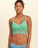 Hollister Removable-Pads Lined Lace Bralette