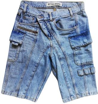 Ottolinger Blue Denim - Jeans Shorts for Women