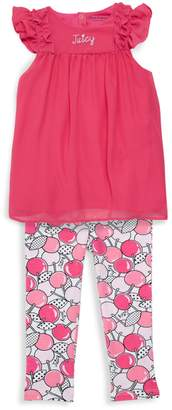 Juicy Couture Baby Girl's 2-Piece Tunic & Leggings Set