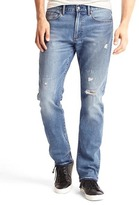 Gap STRETCH 1969 slim fit destructed jeans
