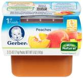 Gerber 2.5 oz. 1st Foods Nature Select Peaches