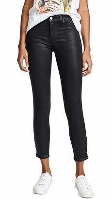 Hudson Women's NICO Midrise Crop Super Skinny 5 Pocket Jean