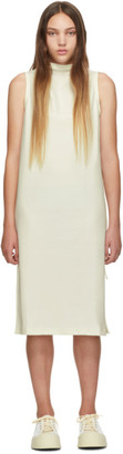 Pleats Please Issey Miyake Online Exclusive White Jersey Tank Dress