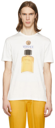 Versace Off-White Perfume T-Shirt