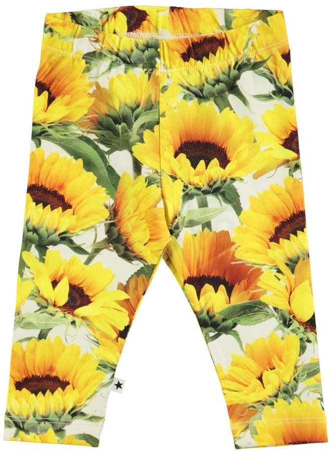 Molo Baby Girl's Stefanie Leggings - Sunflower Fields