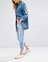 Current/Elliott Badass Bandana Boyfriend Jeans