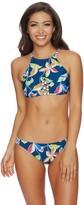 Splendid Tropical Traveler High Neck Bikini Top