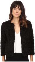 BB Dakota Arline Lurex Faux Fur Jacket