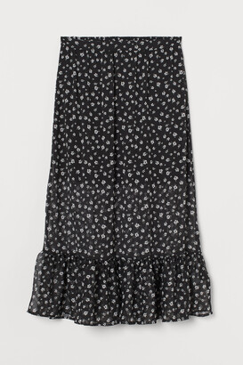 H&M Creped Skirt