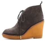 Marc by Marc Jacobs Classic Lace Up Wedge Booties