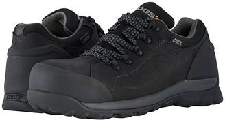 Bogs Foundation Leather Low Comp Toe (Black) Men's Rain Boots