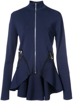 Jonathan Simkhai flared zip jacket