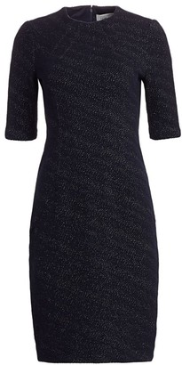 Teri Jon By Rickie Freeman Shimmer Jacquard Cocktail Dress