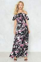 Nasty Gal nastygal Raise Your Glass Floral Maxi Dress