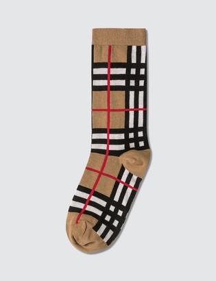 Burberry Classic Check Socks