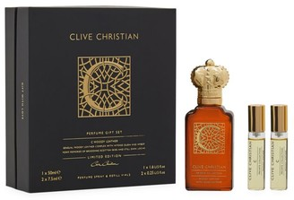 Clive Christian Private Collection C Woody Leather Perfume Gift Set