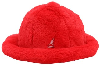 Kangol Faux Fur Bucket Hat