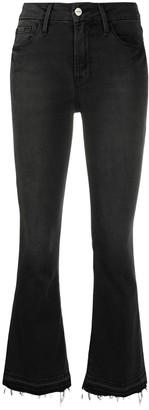 Frame Flared Slim Leg Jeans