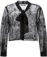Moschino lace jacket