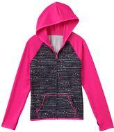 Girls 7-16 & Plus Size SO® Zip-Up Raglan Performance Hoodie