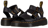 Dr. Martens Gryphon Platform Gladiator Sandals (Black) Women's Shoes