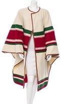 Altuzarra Striped Knit Cape