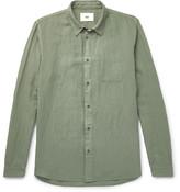 Folk - Linen And Cotton-blend Shirt