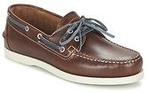 TBS PHENIS men's Boat Shoes in Brown