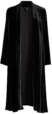 Eileen Fisher Women's Velvet Open-Front Shawl