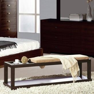 Hokku Designs Parson Wood Bench