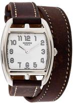 Hermes Cape Cod Tonneau Double Tour Watch