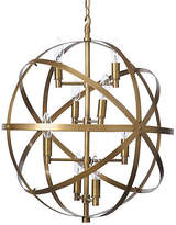 Barbara Cosgrove Sphere Pendant - Antiqued Brass
