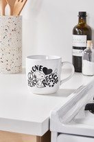 Urban Outfitters Peanuts Love Recycle 15 oz Mug