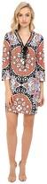 London Times Tunic w/ Lace Up Front Dress