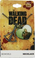 Bioworld Walking Dead Daryl Dixon Heart Crossbow Charm Necklace