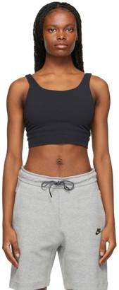 Nike Black Yoga Luxe Crop Tank Top