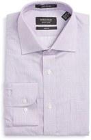 Nordstrom Men's Trim Fit Solid Linen & Cotton Dress Shirt
