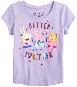 Peppa Pig Toddler Girl Jumping Beans Better Together Tee