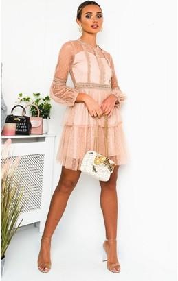 IKRUSH Daisyy Lace Shift Dress