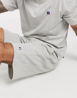 Russell Athletic Forester sweat shorts in grey