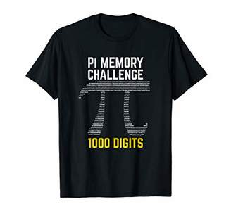 Pi 1000 Digits of Memory Challenge Day T-Shirt