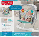 Fisher-Price NEW Colourful Carnival Take Along Swing & Seat