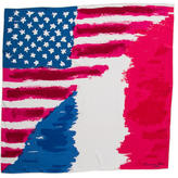 Christian Dior Silk Flag Scarf