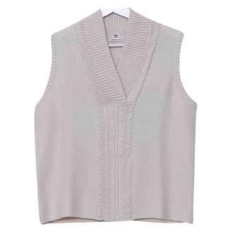 Hermes Beige Cotton Knitwear for Women