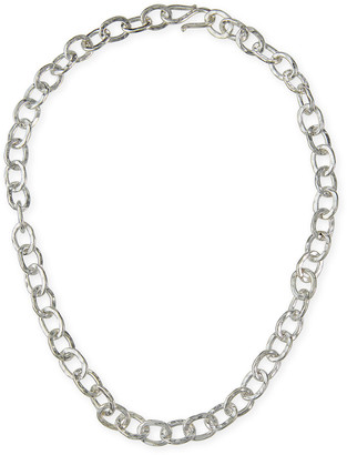 Dina Mackney Luxe Sterling Silver Chain Necklace