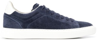 Brunello Cucinelli Low Top Lace Up Sneakers